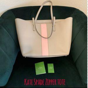 ♠️ Kate Spade Harmony Zippered Tote ♠️